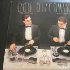Discos de vinilo: DON DISCOMIX - MIKE PLATINAS Y JAVIER USSIA.. Lote 210337155