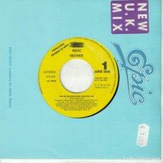 Discos de vinilo: DES'REE - FEEL SO HIGH (SINGLE PROMOCIONAL ESPAÑOL, EPIC 1992). Lote 210337710