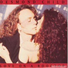 Discos de vinilo: DESMOND CHILD - LOVE ON A ROOFTOP / RAY OF HOPE (SINGLE WEA RECORDS 1991). Lote 210337832