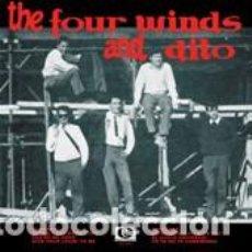Discos de vinilo: THE FOUR WINDS & DITO – THE FOUR WINDS AND DITO VINILO DIEZ PULGADAS. Lote 210338283