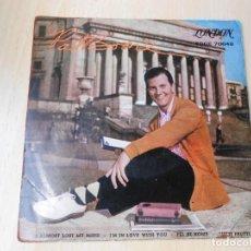 Discos de vinilo: PAT BOONE, EP, I ALMOST LOST MY MIND + 3, AÑO 1959. Lote 210338343