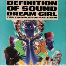 Discos de vinilo: DEFINITION OF SOUND - DREAM GIRL / THE GOD IN ME (SINGLE INGLES, CIRCA RECORDS 1991). Lote 210338877