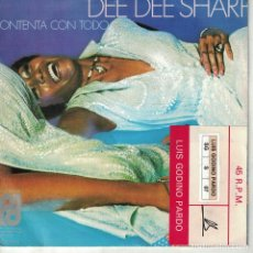 Discos de vinilo: DEE DEE SHARP - HAPPY BOUT THE WHOLE THING / I'M NOT IN LOVE (SINGLE ESPAÑOL, PI RECORDS 1976). Lote 210338978