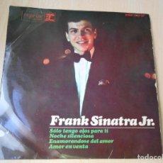 Discos de vinilo: FRANK SINATRA JR., EP, SOLO TENGO OJOS PARA TI + 3, AÑO 1965. Lote 210339138