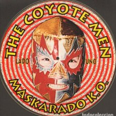 Discos de vinilo: THE COYOTE MEN ‎– MASKARADO K.O. VINYL, LP, PICTURE DISC. Lote 210339320