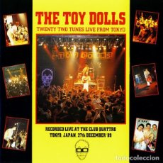Discos de vinilo: THE TOY DOLLS ‎– TWENTY TUNES LIVE FROM TOKYO 2 × VINYL, LP, ALBUM, LIMITED EDITION, REISSUE, YELLO. Lote 210339637