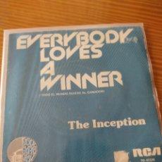 Discos de vinilo: DISCO VINILO SINGLE THE INCEPTION. Lote 210339817