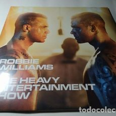 Discos de vinilo: LP - ROBBIE WILLIAMS ‎– HEAVY ENTERTAINMENT SHOW - 2LP - 88985371031 - ¡¡ NUEVO !!. Lote 210340787