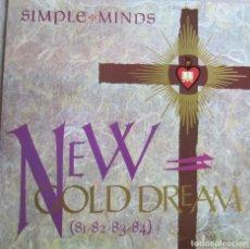 Disques de vinyle: SIMPLE MINDS: NEW GOLD DREAM 81-82-83-84. Lote 210342006