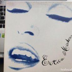 Discos de vinilo: MADONNA - EROTICA (2XLP, ALBUM, GAT) 1992. SELLO:MAVERICK, 9362-45031-1. SIRE 491. MUY BUEN ESTADO. Lote 210342361
