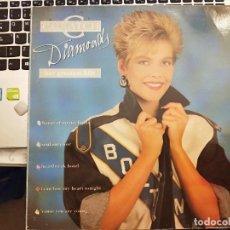 Discos de vinilo: C.C. CATCH - DIAMONDS - HER GREATEST HITS (LP, COMP) 1988.SELLO:HANSA, ARIOLA CAT. Nº: 209 063. Lote 210352465