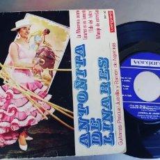 Discos de vinilo: ANTOÑITA DE LINARES-EP LA MACARENA SONRIE +3. Lote 210352481