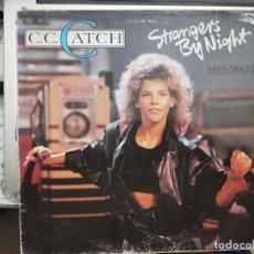 """Discos de vinilo: C.C. CATCH - STRANGERS BY NIGHT (12"""", MAXI) 1986. SELLO:ARIOLA CAT. Nº: F-608.147. Lote 210352635"""