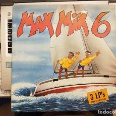 Discos de vinilo: MAX MIX 6 (LP, COMP, MIXED) 1988. SELLO:MAX MUSIC, MAX MUSIC CAT. Nº: LP-305-X. ITALO-DISCO. Lote 210353088