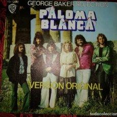 Discos de vinilo: GEORGE BAKER SELECTION PALOMA BLANCA SINGLE 1975. Lote 210365985
