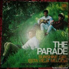 Discos de vinilo: THE PARADE SUSHINE GIRL 1967. Lote 210366187