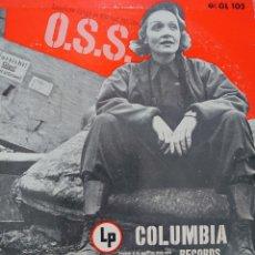 Discos de vinilo: MARLENE DIETRICH 25 CTMS SELLO COLUMBIA EDITADO EN USA.. Lote 210369488
