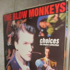 Discos de vinilo: THE BLOW MONKEYS - CHOICES THE SINGLES COLLECTION - 1989. Lote 210370997