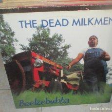 Discos de vinilo: THE DEAD MILKMEN – BEELZEBUBBA - LP ENIGMA RECORDS 1989. Lote 210371627