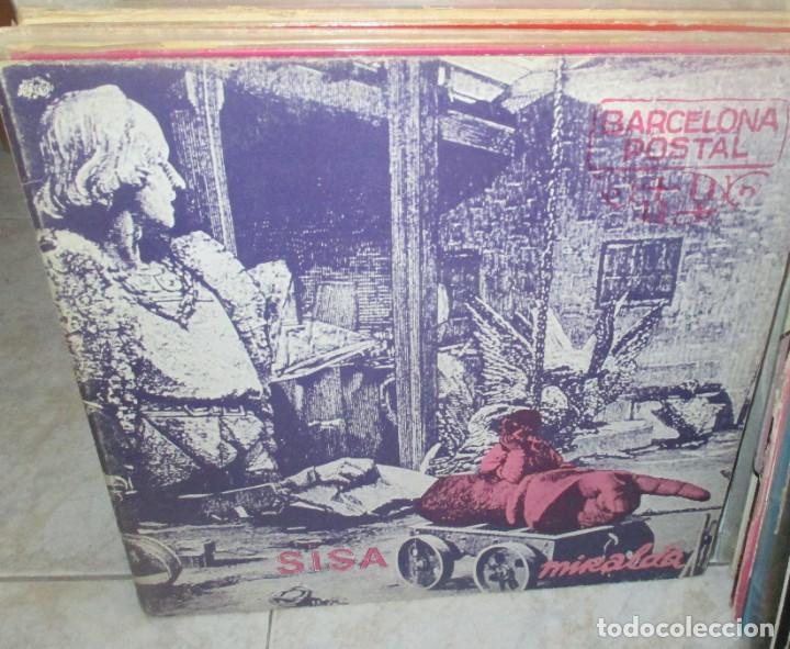 SISA & MIRALDA - BARCELONA POSTAL MIRALDA LP 1982 EDIGSA PORTADA DOBLE (Música - Discos - LP Vinilo - Grupos Españoles de los 70 y 80)