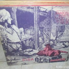 Discos de vinilo: SISA & MIRALDA - BARCELONA POSTAL MIRALDA LP 1982 EDIGSA PORTADA DOBLE. Lote 263734705