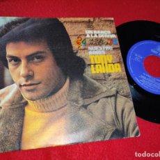 Discos de vinilo: TONY LANDA UN BARCO A LA DERIVA/NUESTRO ADIOS 7'' SINGLE 1975 HISPAVOX. Lote 210382875