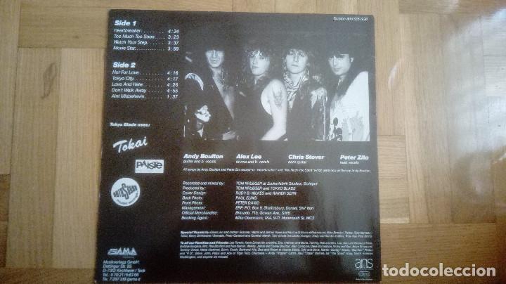 Discos de vinilo: TOKYO BLADE – Aint Misbehavin. 1987. LP - Foto 3 - 210383936