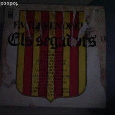 Discos de vinilo: DISCO VINILO. ELS SEGADORS. ACM. Lote 210389581