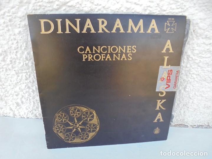 DINARAMA. CANCIONES PROFANAS. ALASKA. LP VINILO HISPAVOX 1983. (Música - Discos - LP Vinilo - Pop - Rock - New Wave Extranjero de los 80)
