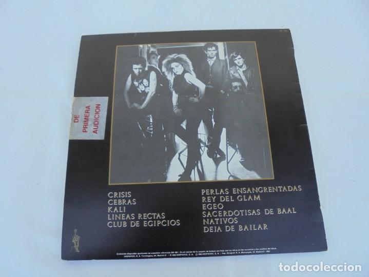 Discos de vinilo: DINARAMA. CANCIONES PROFANAS. ALASKA. LP VINILO HISPAVOX 1983. - Foto 9 - 210391332