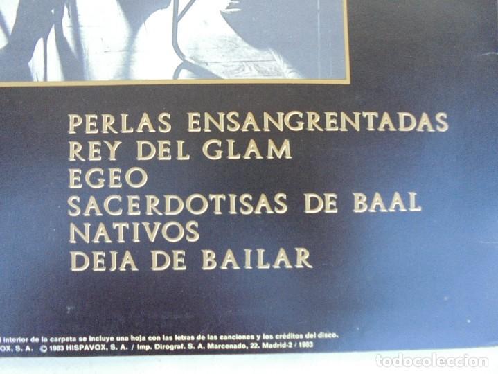 Discos de vinilo: DINARAMA. CANCIONES PROFANAS. ALASKA. LP VINILO HISPAVOX 1983. - Foto 11 - 210391332