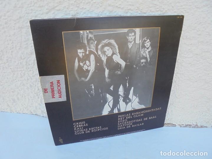 Discos de vinilo: DINARAMA. CANCIONES PROFANAS. ALASKA. LP VINILO HISPAVOX 1983. - Foto 12 - 210391332