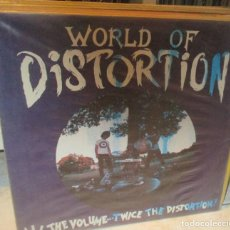 Discos de vinilo: WORLD OF DISTORTION ?– ALL THE VOLUME... TWICE THE DISTORTION! LP VOXXX 1988. Lote 210391540