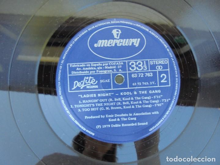 Discos de vinilo: KOOL AND THE GANG. LADIES´ NIGHT. LP VINILO. DELITE RECORDS 1979. - Foto 6 - 210391552