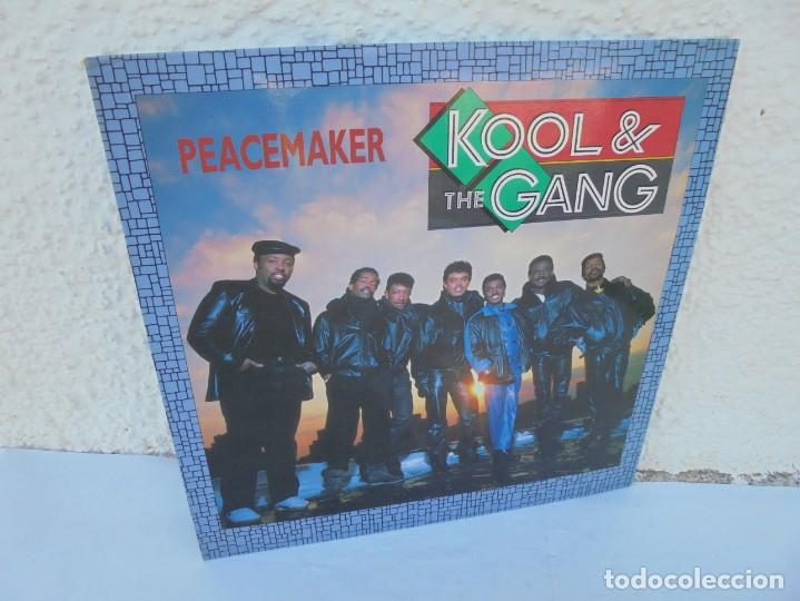 KOOL & THE GANG. PEACEMAKER. LP VINILO. POLYGRAM 1987. (Música - Discos - LP Vinilo - Jazz, Jazz-Rock, Blues y R&B)