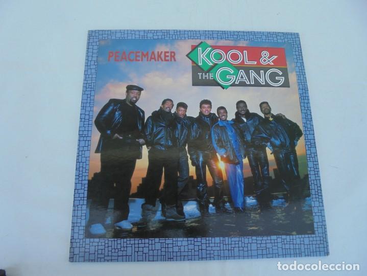 Discos de vinilo: KOOL & THE GANG. PEACEMAKER. LP VINILO. POLYGRAM 1987. - Foto 2 - 210391770
