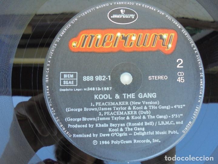 Discos de vinilo: KOOL & THE GANG. PEACEMAKER. LP VINILO. POLYGRAM 1987. - Foto 4 - 210391770
