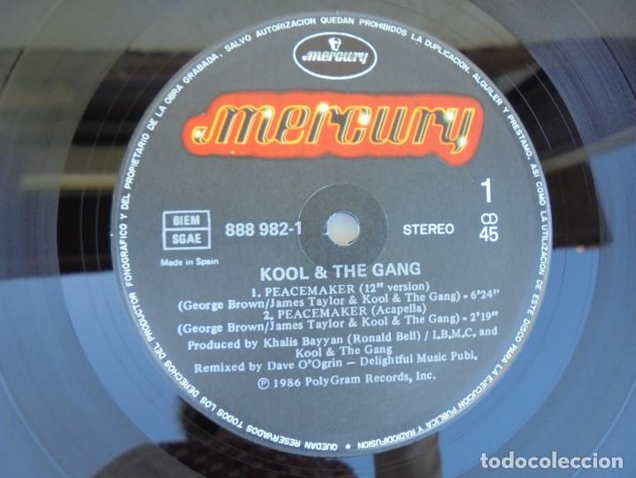 Discos de vinilo: KOOL & THE GANG. PEACEMAKER. LP VINILO. POLYGRAM 1987. - Foto 6 - 210391770