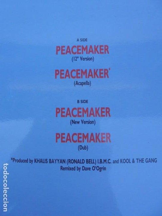 Discos de vinilo: KOOL & THE GANG. PEACEMAKER. LP VINILO. POLYGRAM 1987. - Foto 7 - 210391770