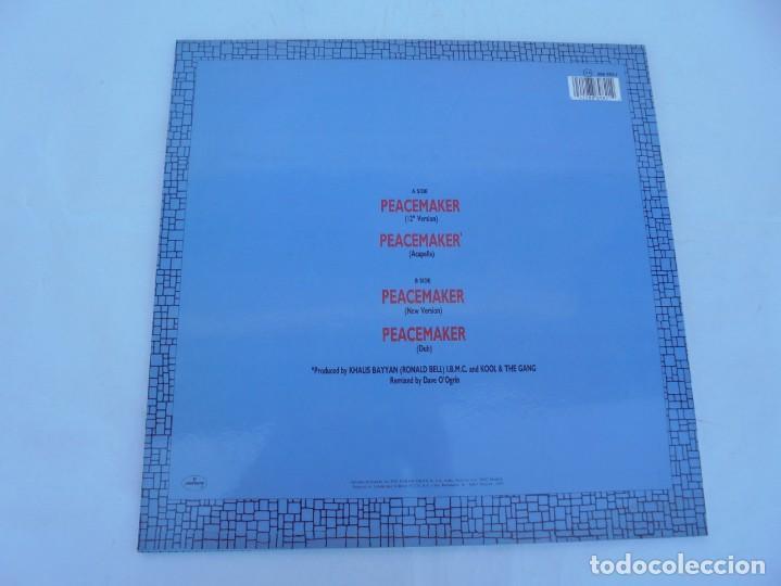 Discos de vinilo: KOOL & THE GANG. PEACEMAKER. LP VINILO. POLYGRAM 1987. - Foto 8 - 210391770