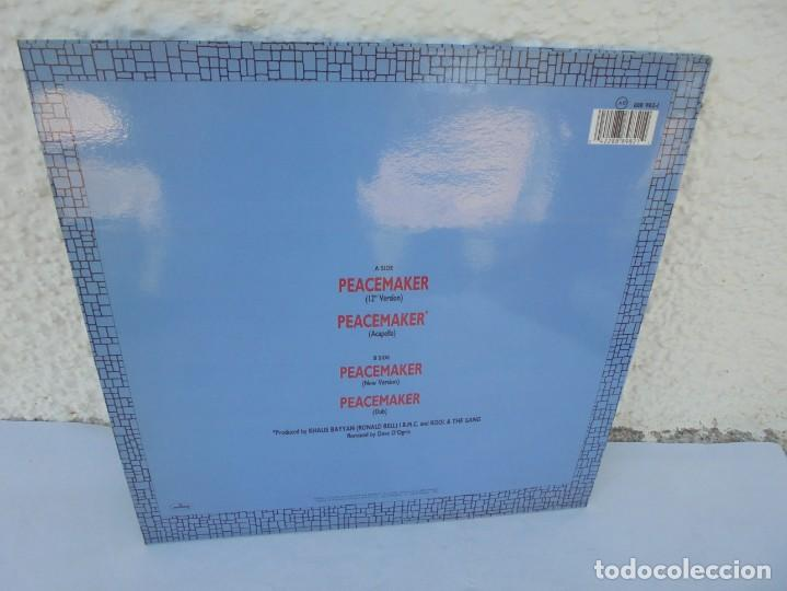 Discos de vinilo: KOOL & THE GANG. PEACEMAKER. LP VINILO. POLYGRAM 1987. - Foto 9 - 210391770