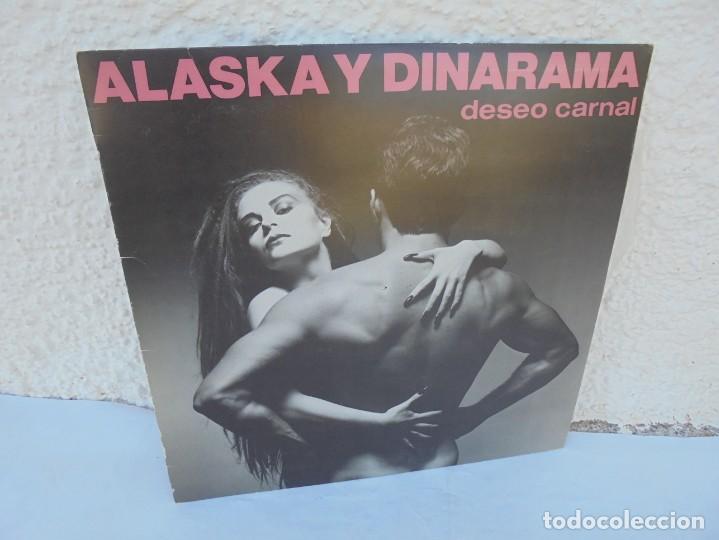 ALASKA Y DINARAMA. DESEO CARNAL. LP VINILO. HISPAVOX 1984 (Música - Discos - LP Vinilo - Pop - Rock - New Wave Extranjero de los 80)