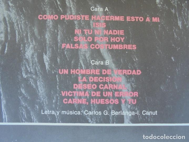 Discos de vinilo: ALASKA Y DINARAMA. DESEO CARNAL. LP VINILO. HISPAVOX 1984 - Foto 4 - 210391948