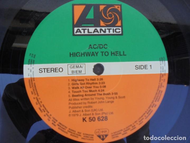 Discos de vinilo: AC/DC. HIGWAY TO HELL. LP VINILO. ATLANTIC RECORD. 1979. - Foto 4 - 210392255