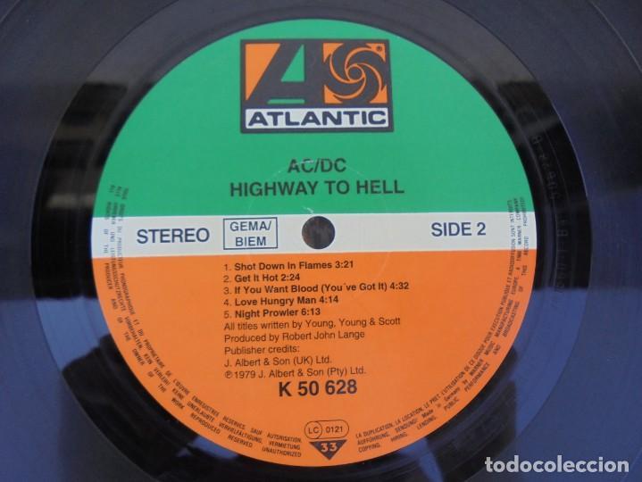 Discos de vinilo: AC/DC. HIGWAY TO HELL. LP VINILO. ATLANTIC RECORD. 1979. - Foto 6 - 210392255