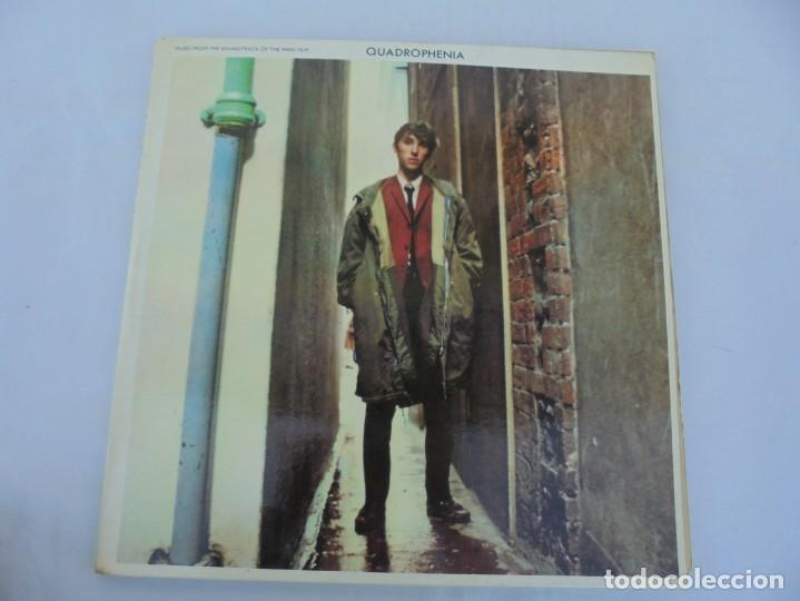 Discos de vinilo: QUADROPHENIA. MUSIC FROM THE SOUNDTRACK OF THE WHO FILM. 2 LP VINILO. POLYDOR 1979. - Foto 2 - 210393101