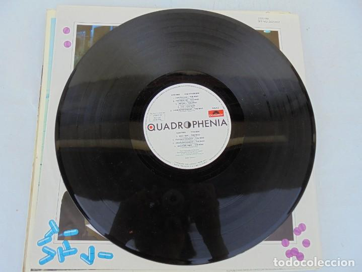 Discos de vinilo: QUADROPHENIA. MUSIC FROM THE SOUNDTRACK OF THE WHO FILM. 2 LP VINILO. POLYDOR 1979. - Foto 12 - 210393101