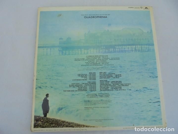Discos de vinilo: QUADROPHENIA. MUSIC FROM THE SOUNDTRACK OF THE WHO FILM. 2 LP VINILO. POLYDOR 1979. - Foto 15 - 210393101