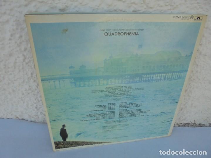 Discos de vinilo: QUADROPHENIA. MUSIC FROM THE SOUNDTRACK OF THE WHO FILM. 2 LP VINILO. POLYDOR 1979. - Foto 16 - 210393101