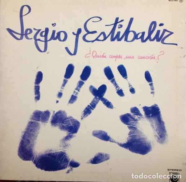 SERGIO Y ESTIBALIZ QUIEN COMPRA UNA CANCION LP NOVOLA SPAIN 1976, PORTADA DOBLE (Música - Discos - LP Vinilo - Grupos Españoles de los 70 y 80)